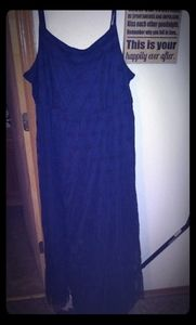 Navy lace maxi dress from torrid sz 3